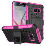 Чехол Yotrix Shockproof case для Samsung Galaxy S7 (розовый, пластиковый)