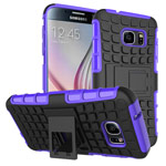 Чехол Yotrix Shockproof case для Samsung Galaxy S7 (фиолетовый, пластиковый)