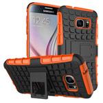 Чехол Yotrix Shockproof case для Samsung Galaxy S7 (оранжевый, пластиковый)
