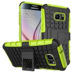 Чехол Yotrix Shockproof case для Samsung Galaxy S7 (зеленый, пластиковый)