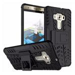 Чехол Yotrix Shockproof case для Asus Zenfone 3 Deluxe ZS570KL (черный, пластиковый)