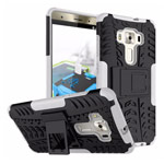 Чехол Yotrix Shockproof case для Asus Zenfone 3 Deluxe ZS570KL (белый, пластиковый)