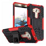 Чехол Yotrix Shockproof case для Asus Zenfone 3 Deluxe ZS570KL (красный, пластиковый)