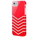 Чехол X-doria Venue Case для Apple iPhone 5 (розовый/белый, пластиковый)