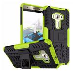 Чехол Yotrix Shockproof case для Asus Zenfone 3 Deluxe ZS570KL (зеленый, пластиковый)