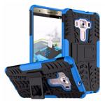 Чехол Yotrix Shockproof case для Asus Zenfone 3 Deluxe ZS570KL (синий, пластиковый)