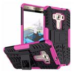 Чехол Yotrix Shockproof case для Asus Zenfone 3 Deluxe ZS570KL (розовый, пластиковый)