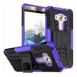 Чехол Yotrix Shockproof case для Asus Zenfone 3 Deluxe ZS570KL (фиолетовый, пластиковый)