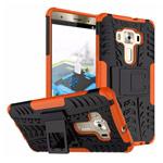 Чехол Yotrix Shockproof case для Asus Zenfone 3 Deluxe ZS570KL (оранжевый, пластиковый)