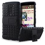 Чехол Yotrix Shockproof case для LG G3 Stylus D690 (черный, пластиковый)