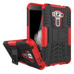 Чехол Yotrix Shockproof case для Asus Zenfone 3 ZE520KL (красный, пластиковый)