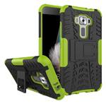 Чехол Yotrix Shockproof case для Asus Zenfone 3 ZE520KL (зеленый, пластиковый)