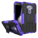 Чехол Yotrix Shockproof case для Asus Zenfone 3 ZE520KL (фиолетовый, пластиковый)