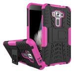Чехол Yotrix Shockproof case для Asus Zenfone 3 ZE520KL (розовый, пластиковый)