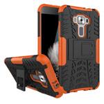 Чехол Yotrix Shockproof case для Asus Zenfone 3 ZE520KL (оранжевый, пластиковый)