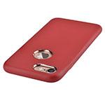 Чехол Devia Successor case для Apple iPhone 7 (красный, кожаный)
