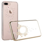 Чехол Devia Crystal Garland для Apple iPhone 7 plus (Champagne Gold, пластиковый)