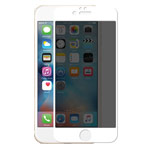 Защитная пленка Devia Privacy Full Screen для Apple iPhone 7 plus (стеклянная, 0.26 мм, тонированная, белая)