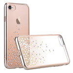 Чехол Comma Unique Polka 360 для Apple iPhone 7 (Champagne Gold, пластиковый)