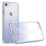 Чехол Comma Unique Polka 360 для Apple iPhone 7 (Blue, пластиковый)