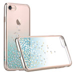 Чехол Comma Unique Polka 360 для Apple iPhone 7 (Green, пластиковый)