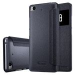 Чехол Nillkin Sparkle Leather Case для Xiaomi Mi 5s (темно-серый, винилискожа)