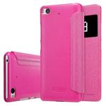 Чехол Nillkin Sparkle Leather Case для Xiaomi Mi 5s (розовый, винилискожа)
