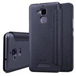 Чехол Nillkin Sparkle Leather Case для Asus Zenfone 3 Max ZC520TL (темно-серый, винилискожа)