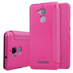 Чехол Nillkin Sparkle Leather Case для Asus Zenfone 3 Max ZC520TL (розовый, винилискожа)
