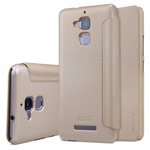 Чехол Nillkin Sparkle Leather Case для Asus Zenfone 3 Max ZC520TL (золотистый, винилискожа)