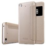 Чехол Nillkin Sparkle Leather Case для Xiaomi Mi 5s (золотистый, винилискожа)
