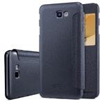 Чехол Nillkin Sparkle Leather Case для Samsung Galaxy J7 Prime (темно-серый, винилискожа)