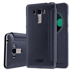 Чехол Nillkin Sparkle Leather Case для Asus Zenfone 3 Laser ZC551KL (темно-серый, винилискожа)