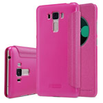 Чехол Nillkin Sparkle Leather Case для Asus Zenfone 3 Laser ZC551KL (розовый, винилискожа)