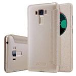 Чехол Nillkin Sparkle Leather Case для Asus Zenfone 3 Laser ZC551KL (золотистый, винилискожа)