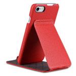 Чехол Melkco Premium Jacka Stand Type для Apple iPhone 7 (красный, кожаный)