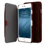Чехол Melkco Premium Booka Pocket Type для Apple iPhone 7 (темно-коричневый, кожаный)