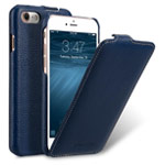 Чехол Melkco Premium Jacka Type для Apple iPhone 7 (синий, кожаный)