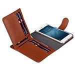 Чехол Melkco Premium B-Wallet Book Type для Apple iPhone 7 (коричневый, кожаный)