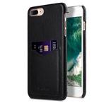 Чехол Melkco Premium Card Slot Snap Cover V2 для Apple iPhone 7 plus (черный, кожаный)
