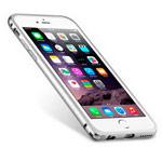 Чехол Melkco Q Arc Aluminium Bumper для Apple iPhone 7 (серебристый, маталлический)