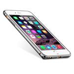 Чехол Melkco Q Arc Aluminium Bumper для Apple iPhone 7 plus (темно-серый, маталлический)