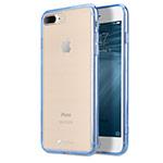 Чехол Melkco PolyUltima case для Apple iPhone 7 plus (голубой, гелевый)