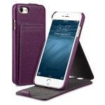 Чехол Melkco Premium Jacka Stand Type для Apple iPhone 7 (фиолетовый, кожаный)