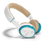 Наушники Bose SoundLink On-Ear универсальные (беспроводные, белые, микрофон)