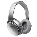 Наушники Bose QuietComfort 35 универсальные (беспроводные, серебристые, микрофон)