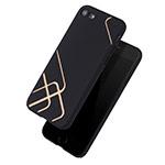 Чехол Azulo Pattern case для Apple iPhone 7 (черный, пластиковый)