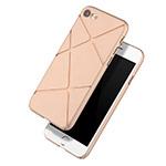 Чехол Azulo X-Line case для Apple iPhone 7 (золотистый, пластиковый)