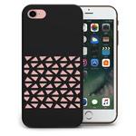 Чехол Azulo Geome case для Apple iPhone 7 (черный, пластиковый)