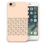 Чехол Azulo Geome case для Apple iPhone 7 (золотистый, пластиковый)